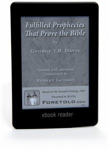 e-Book - Davis Fulfilled Prophecies that Prove the Bible