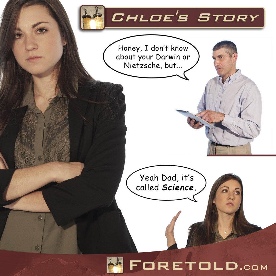 Foretold Social Chloe Story