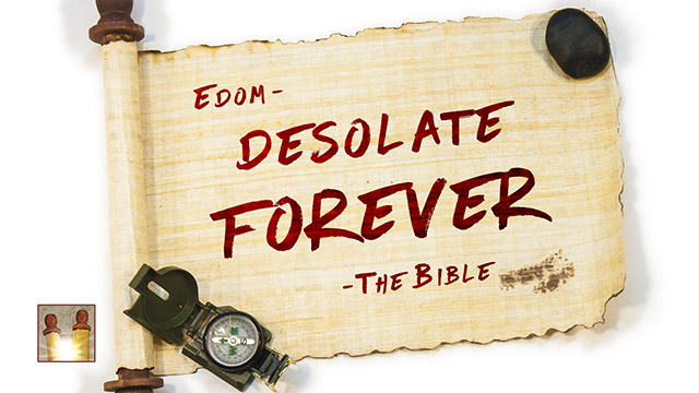 YouVersion – Day 1 – Edom As Foretold